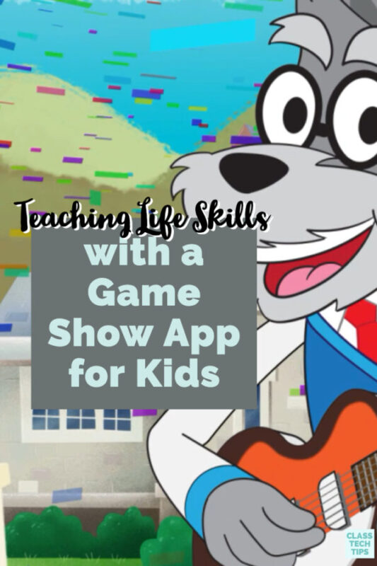 If you're teaching life skills to students, there is a mobile app with trivia-style games for kids. This app and music resource is full of activities!