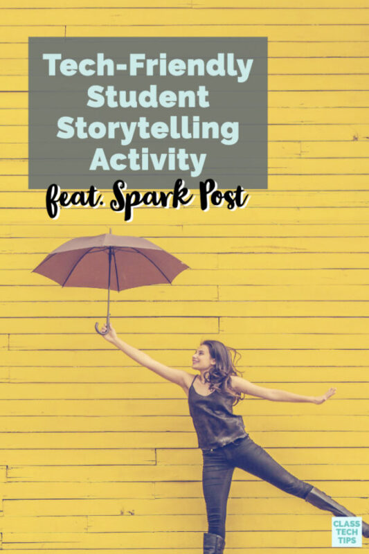 I'm excited to share an engaging, storytelling activity for kids that you may want to replicate in your classroom with Adobe Spark Post!