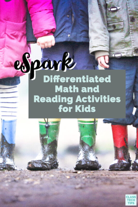 Ready for any device in your classroom, eSpark has a free one-year trial for their differentiated math and reading activities!