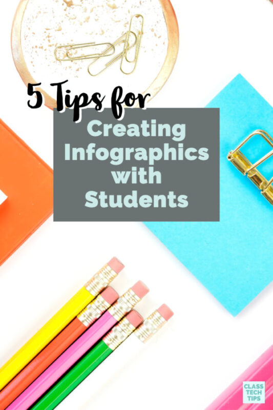 Learn five tips for creating infographics with students using a favorite spotlight EdTech tool, along with a few places to find examples.