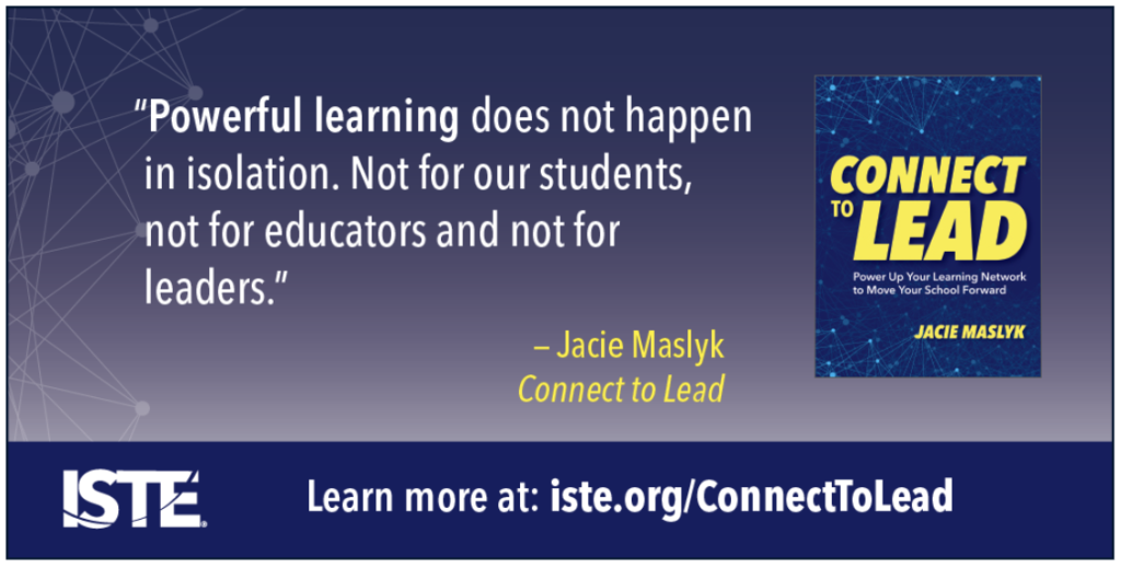 Here is an actionable resource for anyone interested in expanding their network and growing as a connected educator this school year.