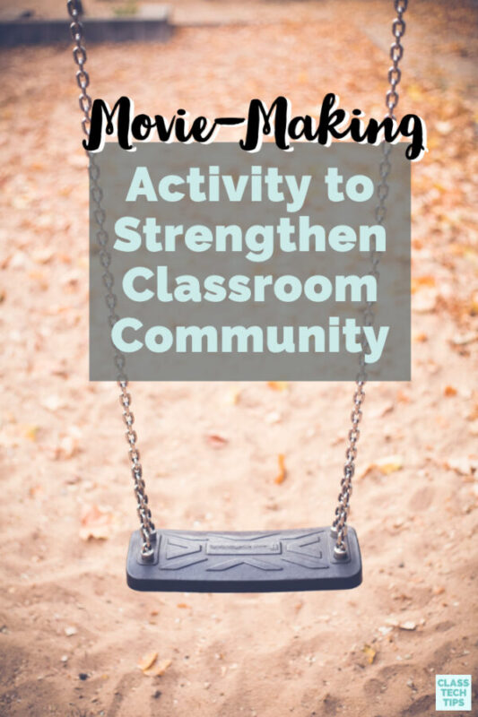 """This """"all about me"""" activity is a great option to help build your classroom community while students explore how to share information through multimedia."""