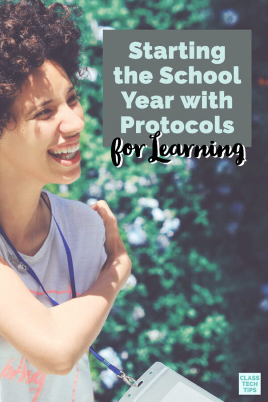 Find out how you can use protocols for learning this school year in any lesson in every subject area. This new field guide is full of classroom resources!