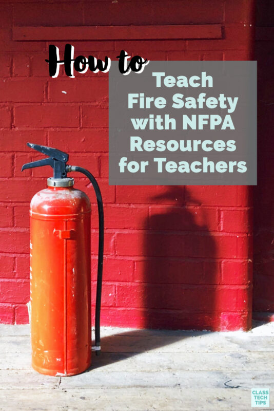 Wondering how to teach fire safety to your students? Look no further than the excellent resources from the National Fire Protection Association.