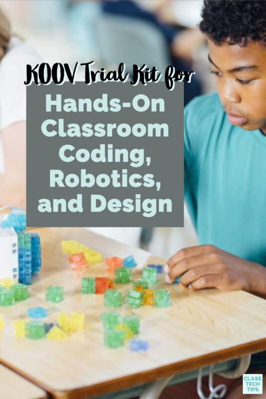 Learn about the new KOOV Trial Kit for hands-on classroom coding, robotics, and design from the folks at SONY and creators of the KOOV Educator Kit.