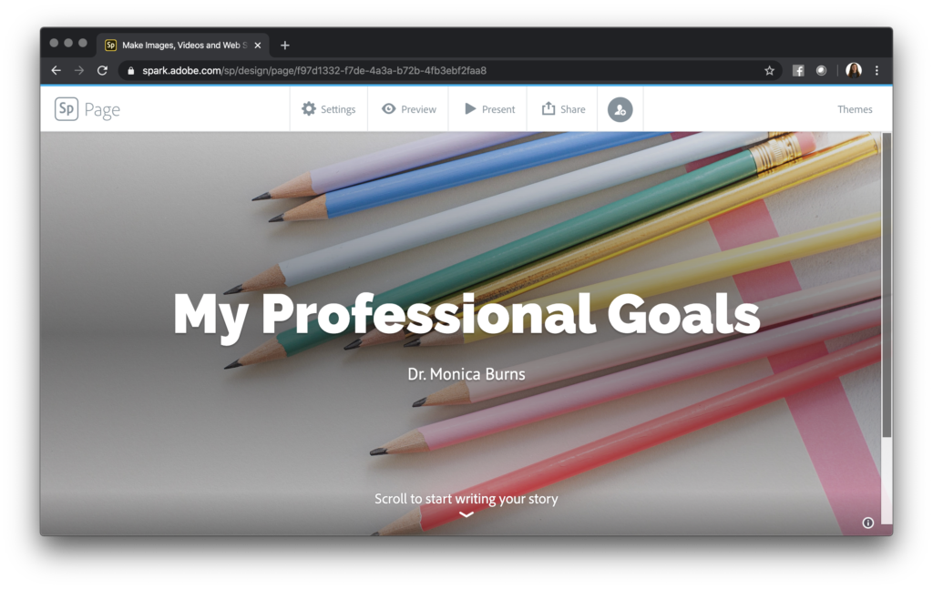 Learn how to write down and keep track of your professional goals by creating a website. This customizable goal tracking strategy is great for any educator.