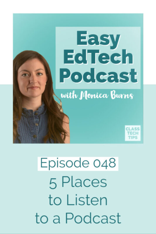 Learn about five places to listen to a podcast whether you're at home or on the go. These options go beyond the typical podcast app on your phone!