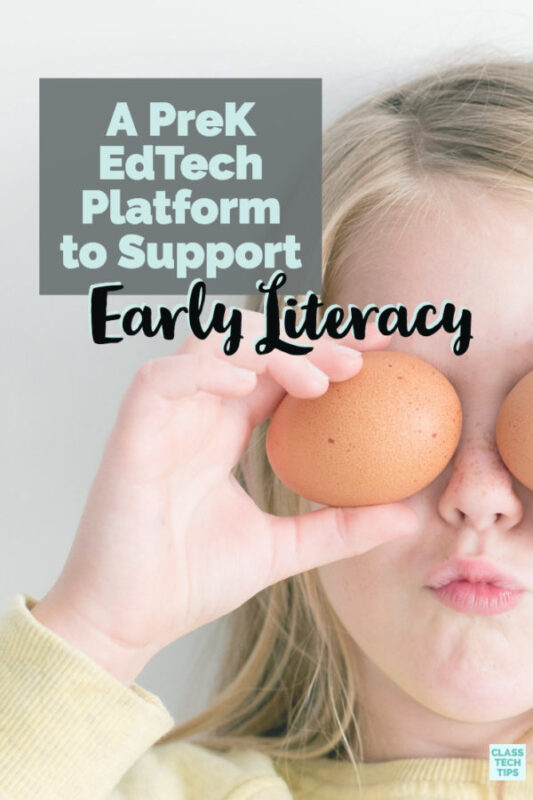 What does EdTech look like in PreK? Here's a story of a PreK EdTech platform called UPSTART designed to support early literacy growth in children.