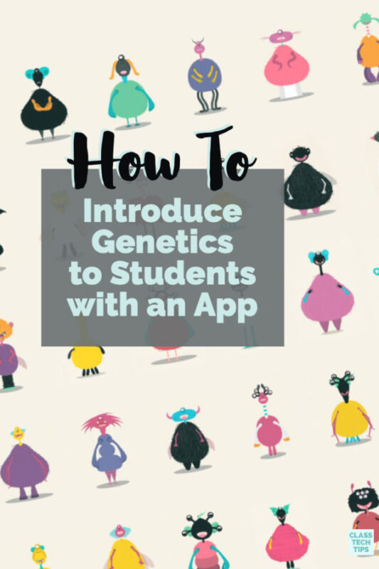 Learn how to introduce genetics to students with a powerful mobile app. These lesson ideas and activitiy ideas are perfect for teaching genetics.