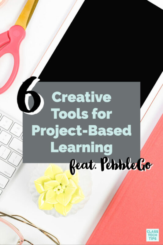 This list of favorite creative tools can help students share their learning as you tackle project-based learning together this school year.