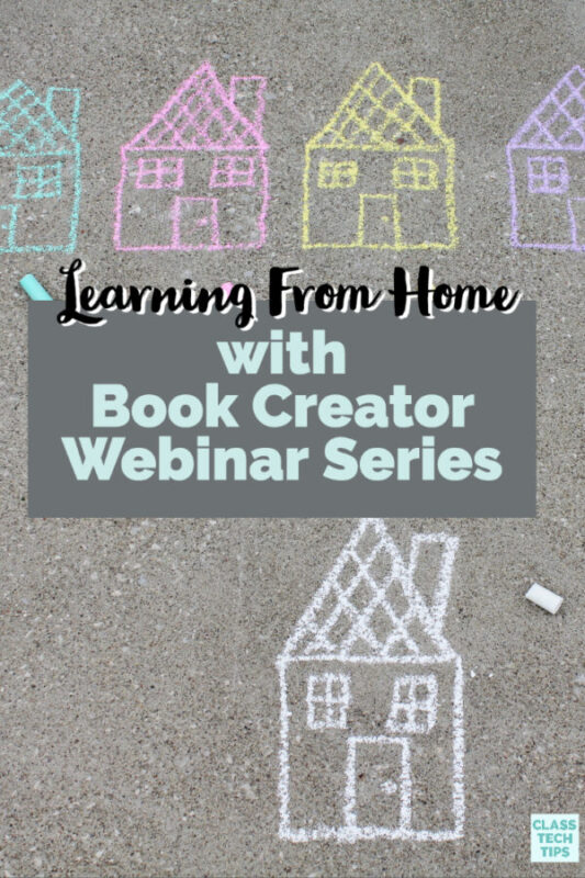 I'm hosting seven events in a Book Creator webinar series to share strategies for using Book Creator.