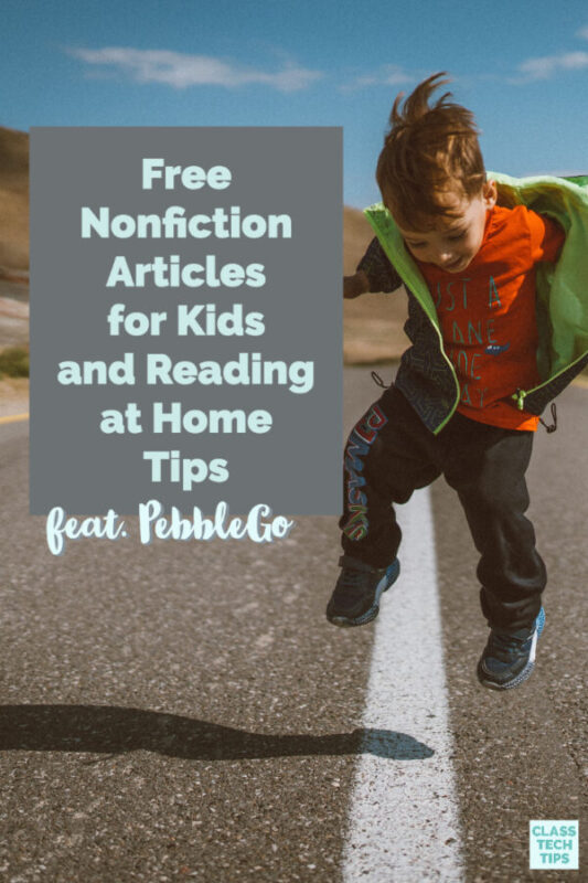 Learn how to access free eBooks for kids and share reading at home tips with families as they explore remote learning iniatives.