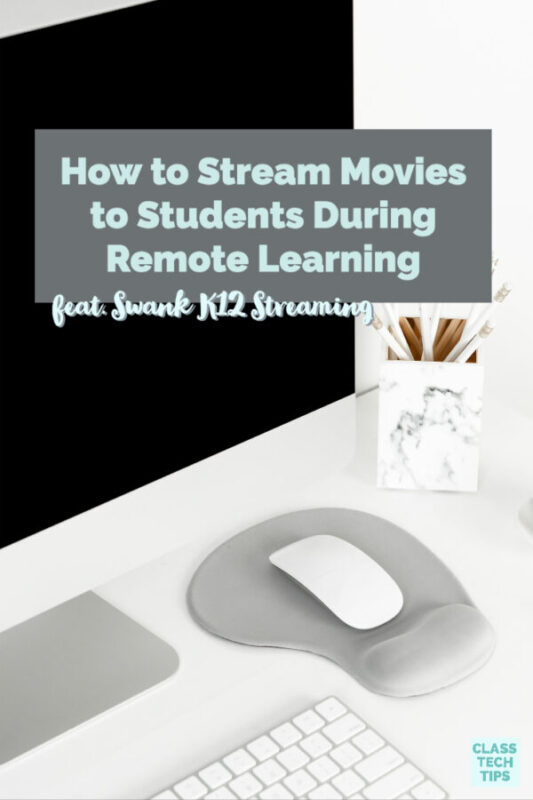 Learn how you can use Swank K12 Streaming to stream movies to students during remote learning initatives using this video platform for schools.