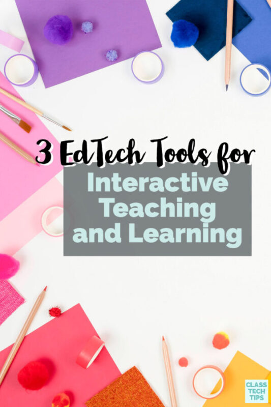 Learn how to use interactive teaching and learning strategies and tools that are perfect for both inside and outside of the classroom.
