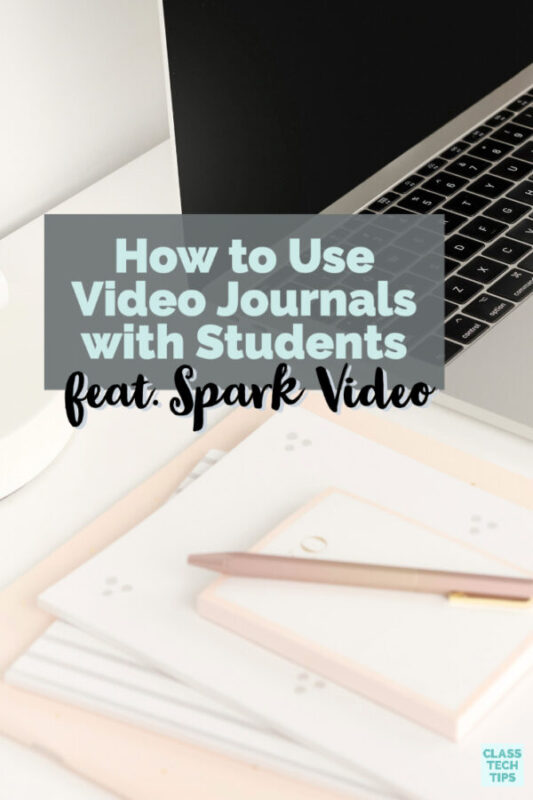 Learn how to use video journals as a weekly way for students to respond to a prompt, reflect, or set a goal in your classroom.