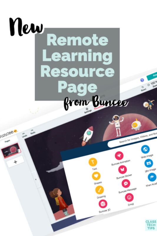 Learn about the new remote learning resource page from Buncee. It's full of guides and activities for students learning at home.