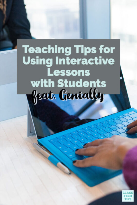 Learn how to create interactive lessons for your students that allow you to make engaging content for students.
