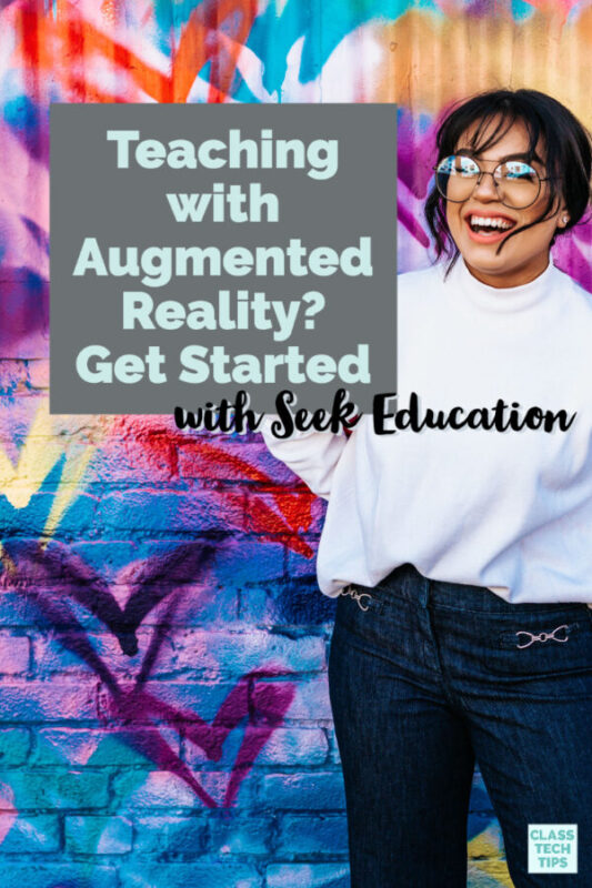 If you want to bring AR back into your lessons or you're teaching with augmented reality for the first time, the team at Seek Education has you covered!