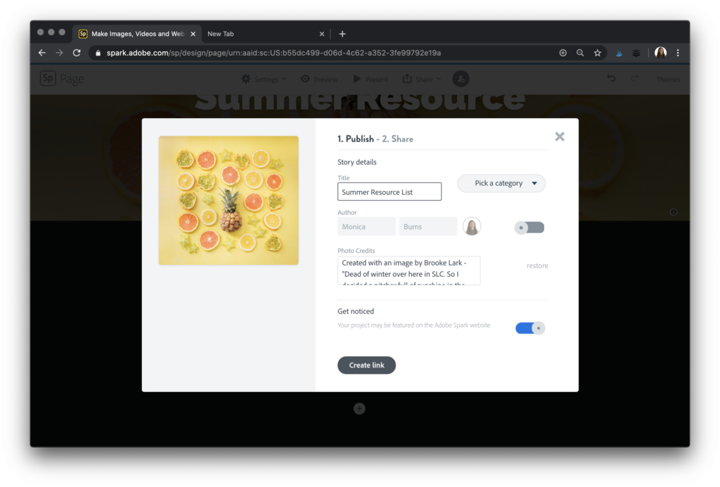 Learn how to make a summer resource list that lets you share links to favorite resources with families over the summertime.