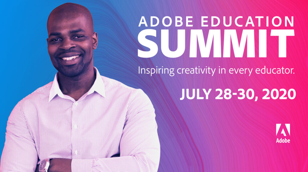 Adobe Education Summit reminder graphic