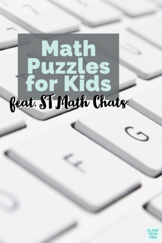 ST Math has released short math puzzles into their ST Math program lessons to help deepen learning through individual practice and whole-class discussion.