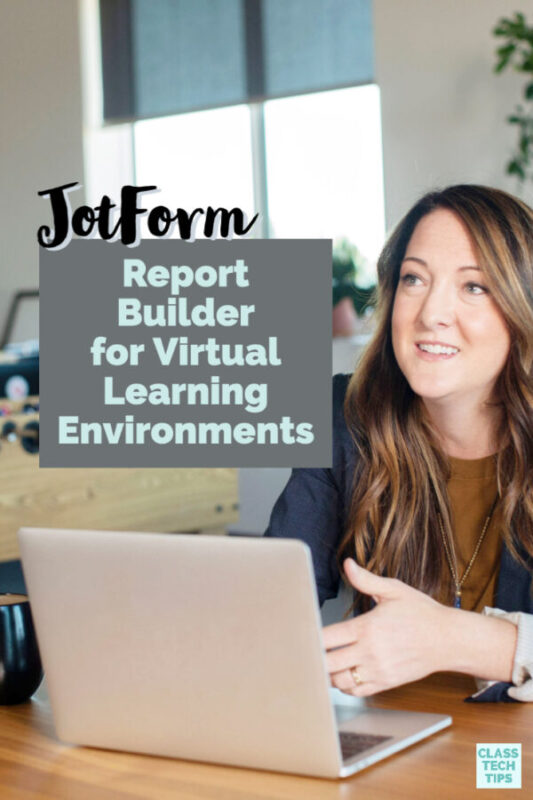 In distance learning initiatives, JotForm Report Builder transforms data collected from forms into presentation-ready reports.