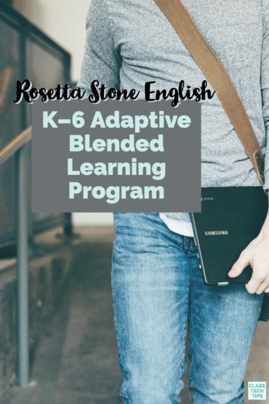 Explore this adaptive blended learning program for students learning English.