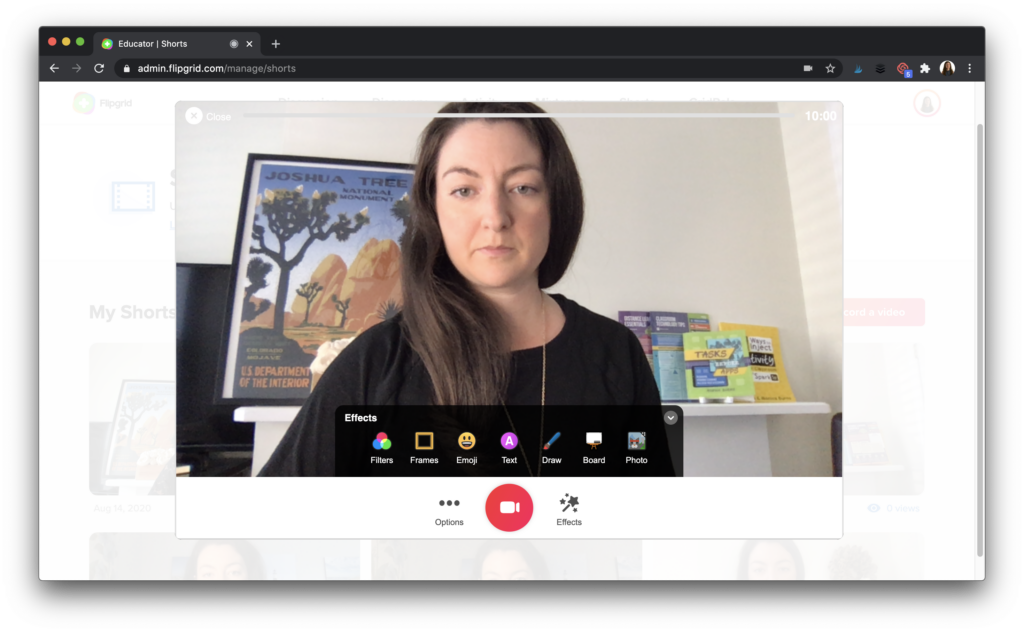 Learn how to use Spark Post and Flipgrid Shorts to create engaging instructional videos for blended learning and distance learning.
