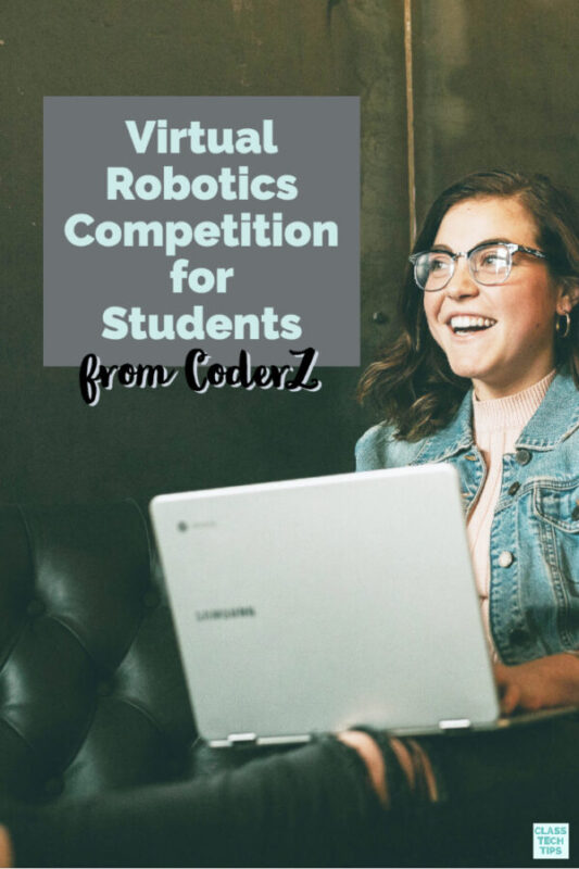 Learn about a new virtual robotics competition from CoderZ is perfect for middle and high school students!