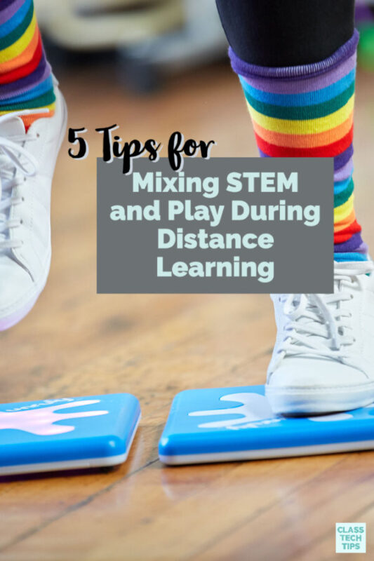 Join a new STEM webinar and learn how to mix STEM and play during distance learning.