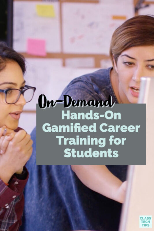 Learn how to use gamified career training during distance learning with the Circadence platform and resources for students and teachers.