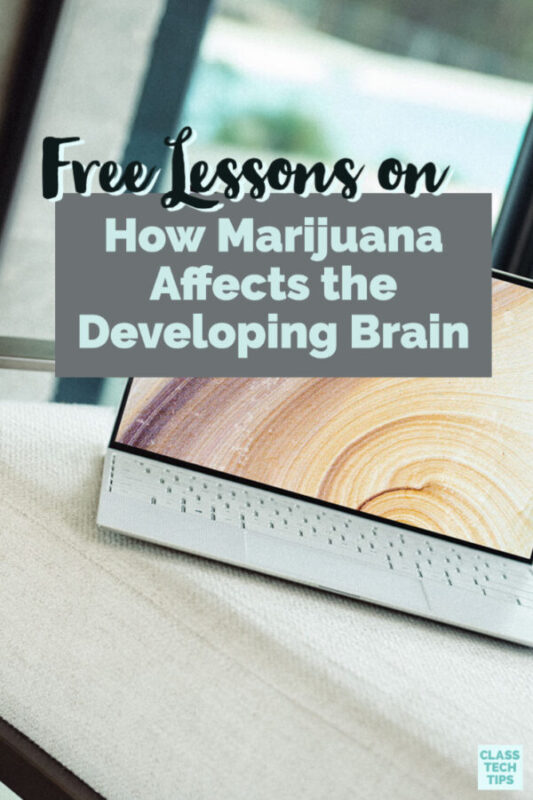Learn about free lesson plans and resources for teahers, families and students all about how marijuana affects a developing brain.