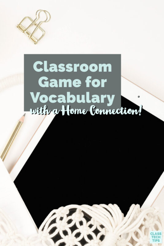 Teachers looking for a classroom game for vocabulary can use Futaba in school and recommend the new Home Edition to families.