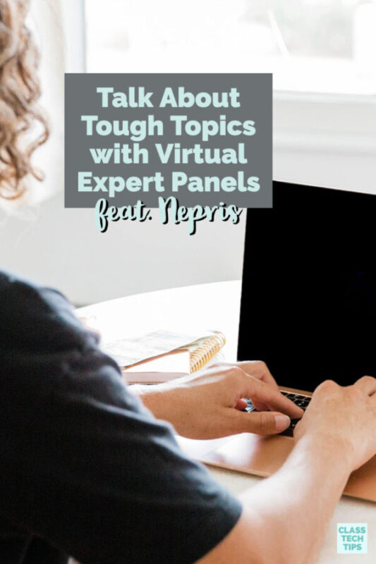 the team at Nepris has set up a series of free, live discussions on social and emotional learning with virtual expert panels.