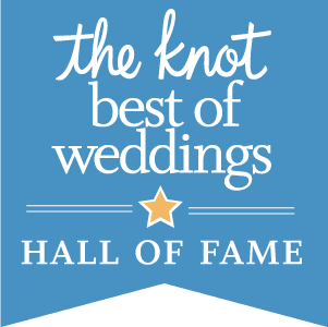 The Knot Best of Weddings Hall of Fame Greens Point Catering award