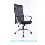 hy-1042 OFFICE CHAIR BLACK