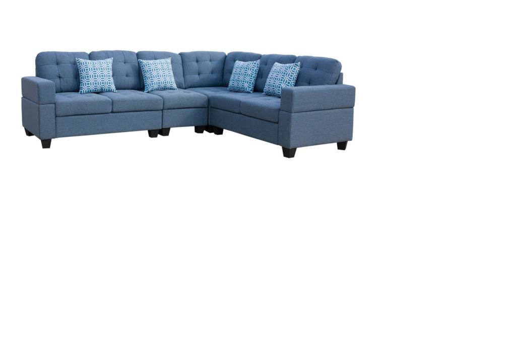 Elegant Modern Fabric Sectional Sofa set in a great Prics