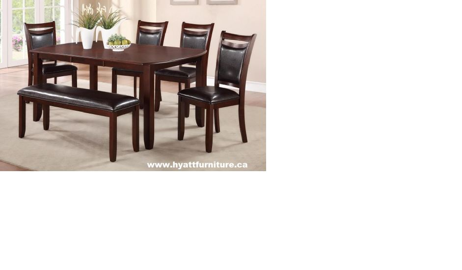 Solid Wood Dinette Set on Promotion