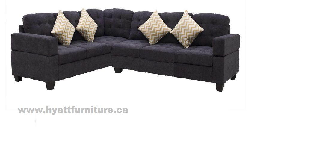 Elegant Modern Fabric Sectional Sofa set in a great Price