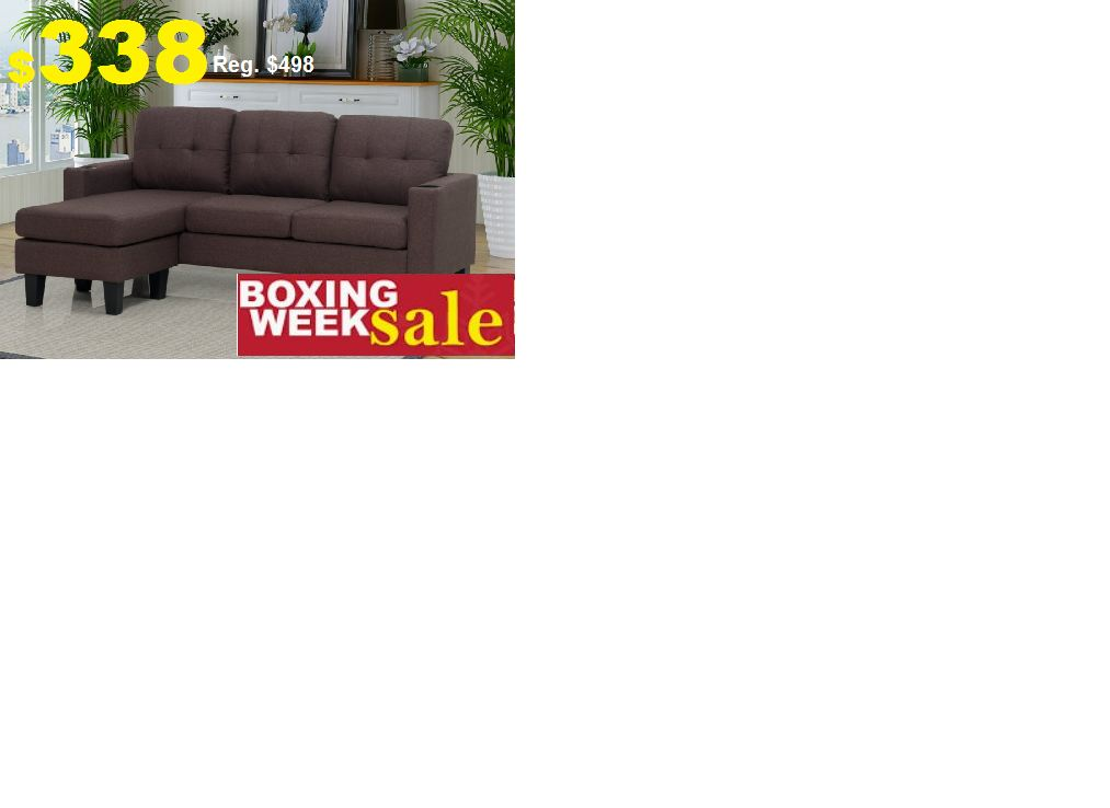 Brand new Sectional in a very Special Price