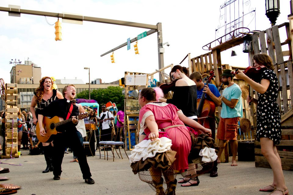 Performing at Artscape 2012