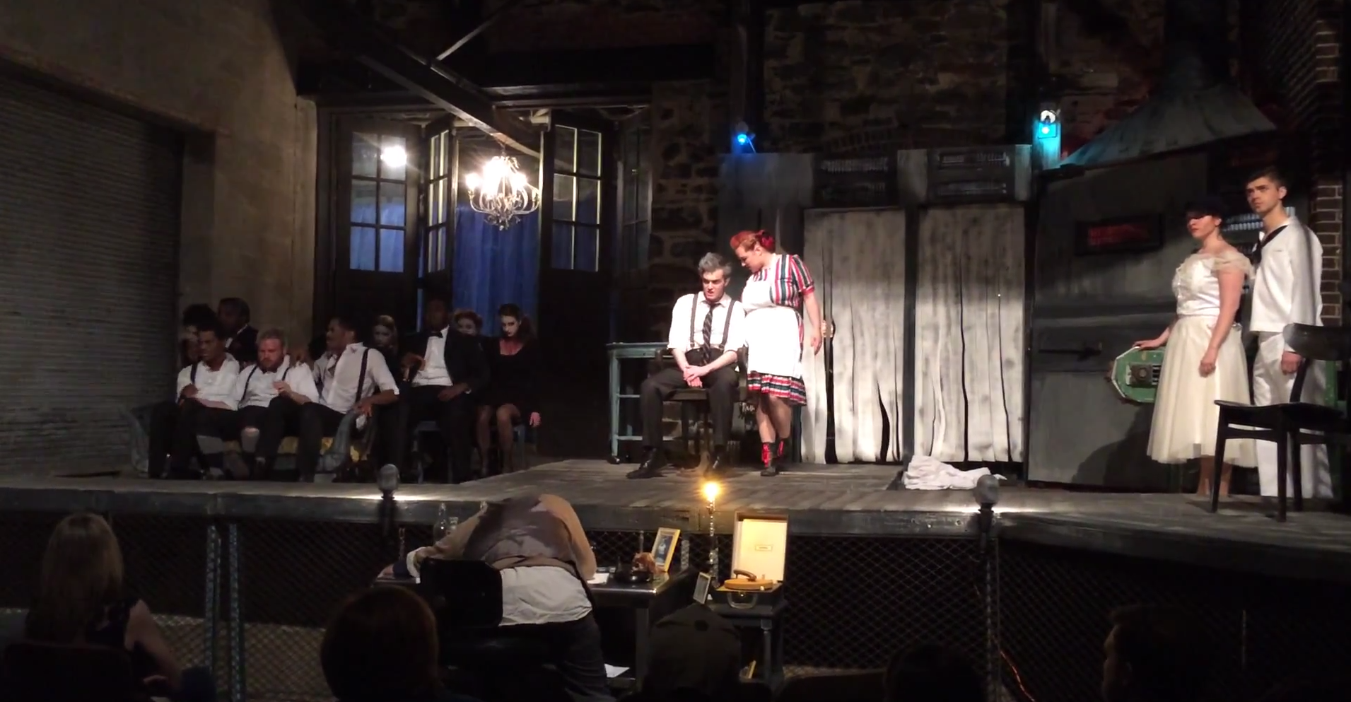 """Stillpointe Theater Initiative's production of """"Sweeny Todd"""" was performed behind Area 405."""