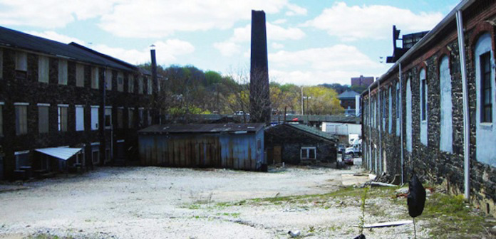 Union Mill, before renovations