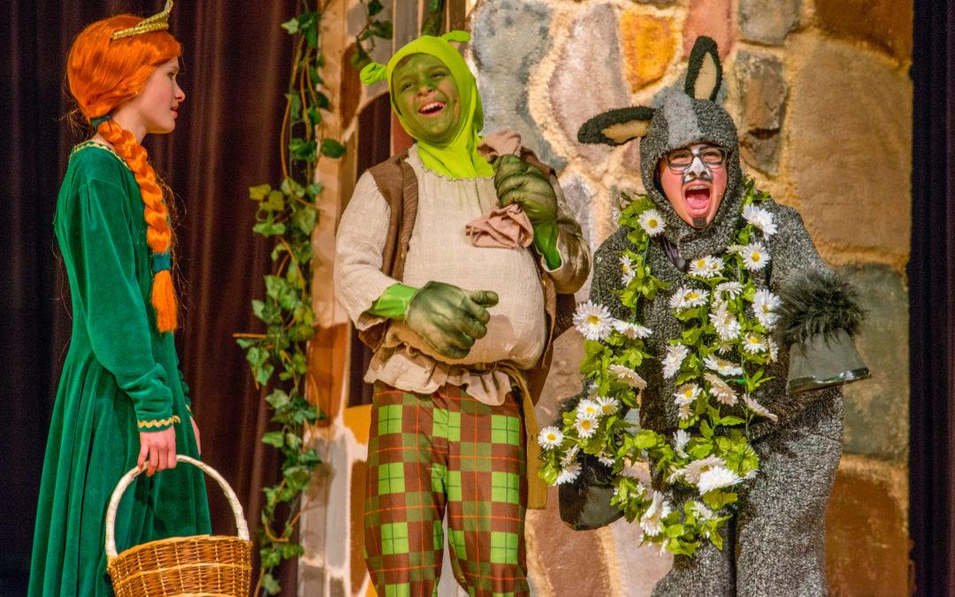 Shrek at BMS