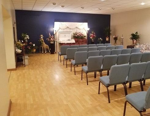 Cremation after visitation