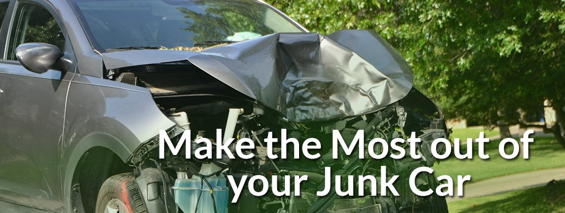 Make the most out of your junk car