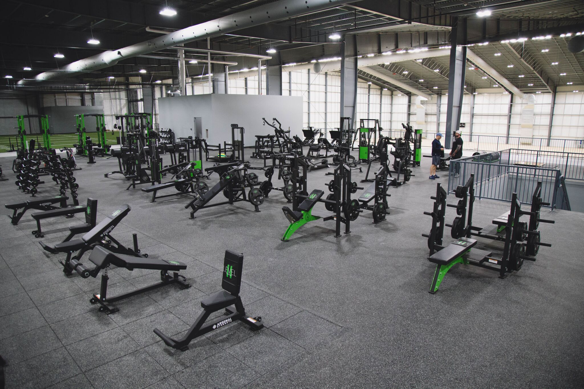 Level 2 Fitness Gym Design by Arsenal Strength