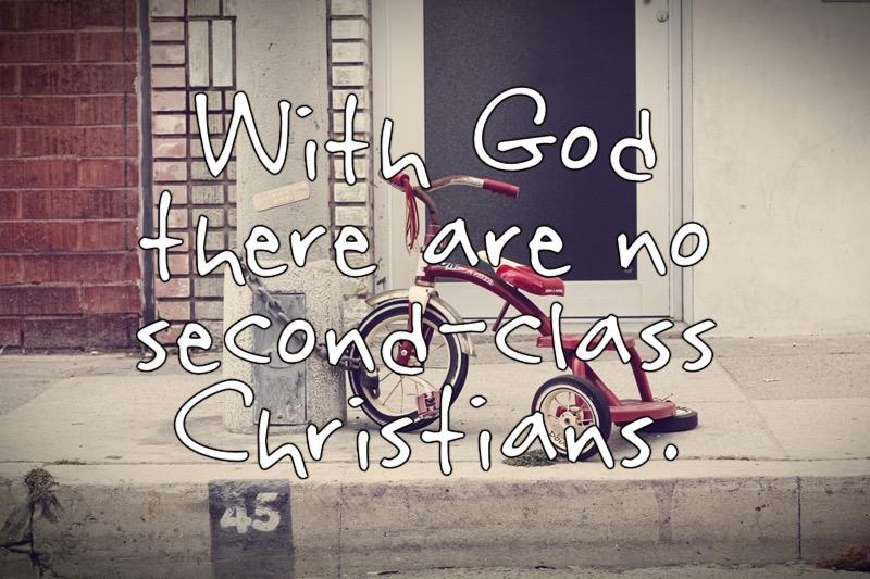 Past 2 No 2nd Class Christians