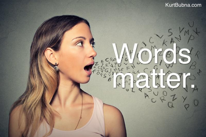 Words Matter Girl