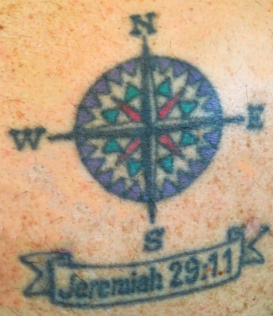 Tattoo Mine Compass Rose